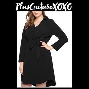Office Girl Blouse Dress